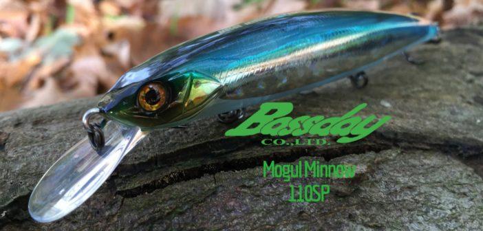 Bassday Mogul Minnow 110SP auf Holz