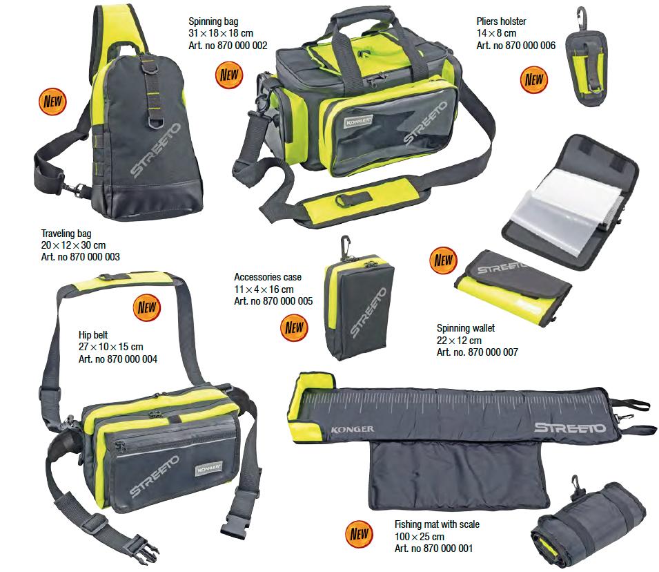 Konger Streeto Taschen und Accessoires
