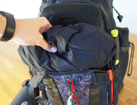 Detailansicht Fach Rapala Urban Back Pack