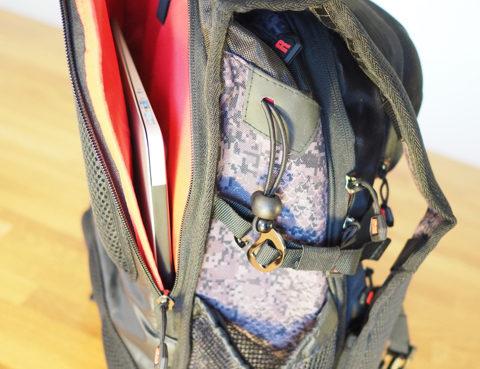 Seitenansicht Details Rapala Urban Back Pack