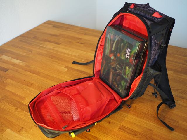 Innenansicht Details Bauchtasche Rapala Urban Back Pack