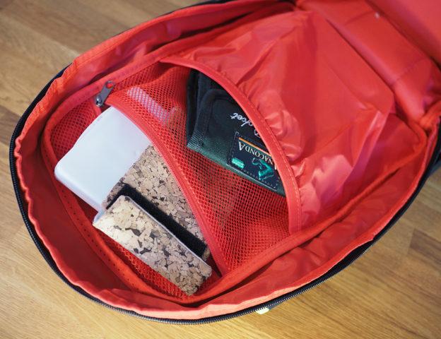 Innenansicht Details Rapala Urban Back Pack
