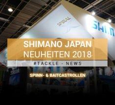Tackle-News: Japan Fishing Tackle Show 2018 – Shimano Reels