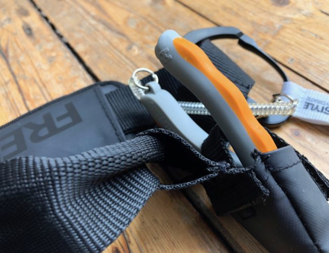 Schlaufe Zangenhalter SPRO Freestyle Ultrafree Belt