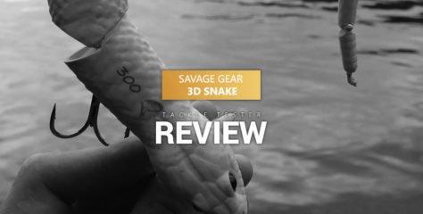 Savage Gear 3D Snake im Test: Mehr als Marketing?