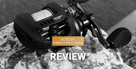 Konger Streeto Cast R 7200 im Test – BFS-Baitcaster zum Sparpreis?