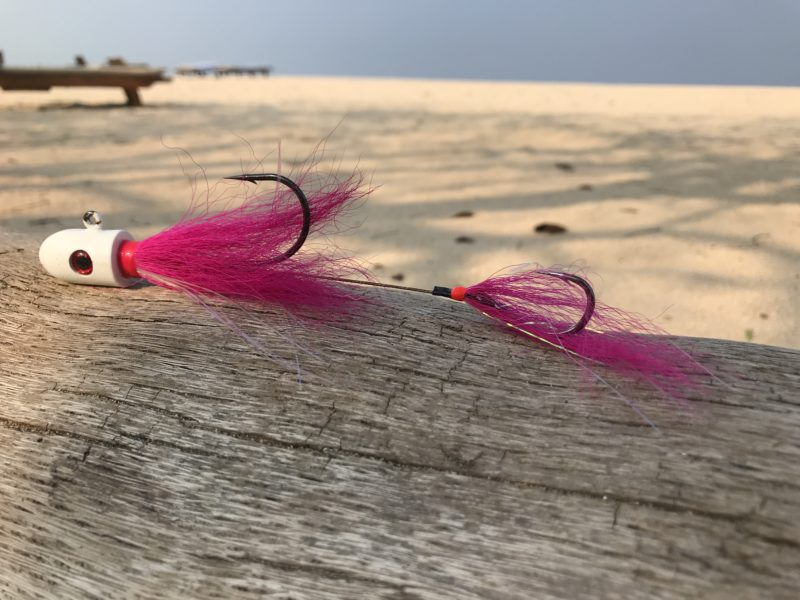 Tackle-Tester - Halco Whiptail Jig 20cm 60g