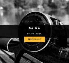 Daiwa Ryoga 1520HL – schwarze Schönheit mit purer Power