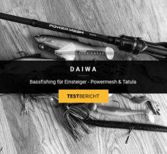Daiwa Powermesh & Tatula: Baitcast-Combo für Einsteiger